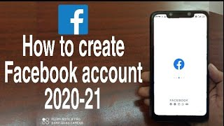How to create a new facebook account   Open new Facebook account