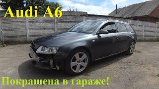 Audi A6 C6. Полировка 3M 51815, сборка и результат покраски в гараже! Часть 8