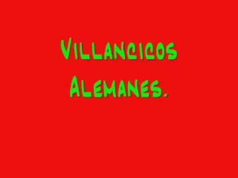 VILLANCICOS ALEMANES. Weihnachtslieder.
