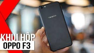 FPT Shop - Khui hộp OPPO F3 phiên bản màu đen huyền bí