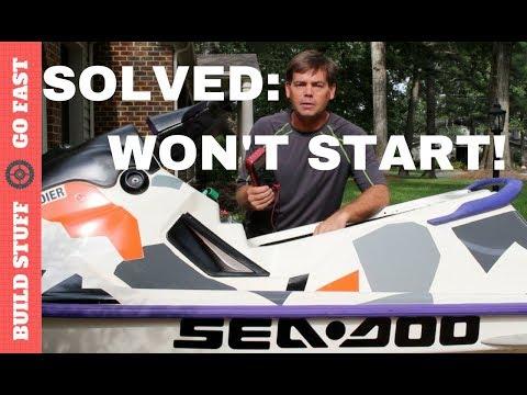 Solved: SeaDoo Won't Start - YouTube