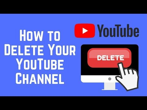HOW TO DELETE YOUR YOUTUBE CHANNEL!!