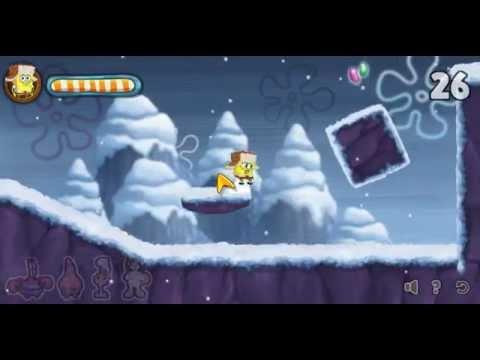 Большие приключения Губки Боба Игра 2