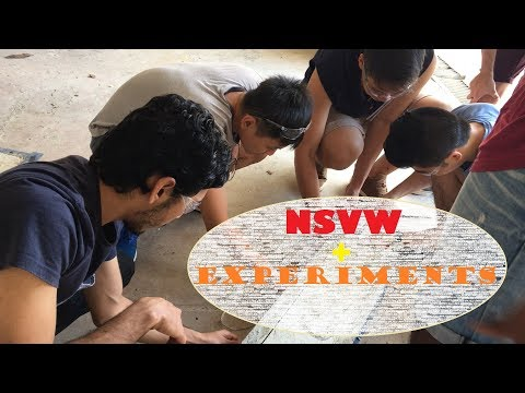 NSVW expo, concrete practical, chicken bungee jumping | vlog