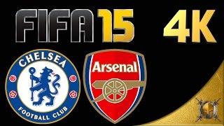 Chelsea vs Arsenal- English Premier League -  FIFA 15 (PC) - 4K -  [2160p 60fps]