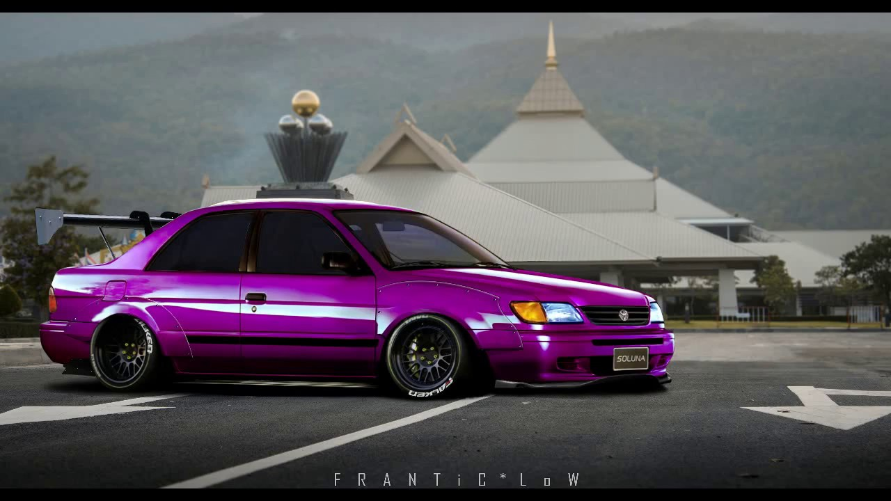 TOYOTA SOLUNA VIRTUAL TUNING (Photoshop Render) By  ToR FRANTiC*LoW