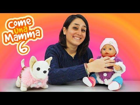 """Giochi per bambini. Al parco giochi con """"Come una mamma"""". Giochi con le bambole Nenuco"""