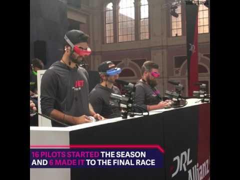 DRONE RACING LEAGUE SEASON FINALE: ALLIANZ WORLD CHAMPIONSHIP LONDON 2017