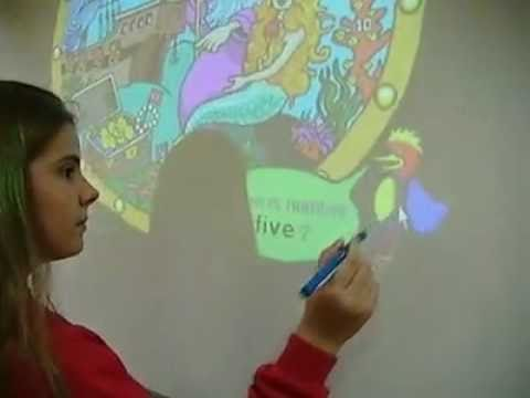 Smart board + language class = luda zabava