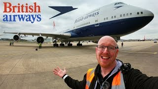 British Airways Boeing 747-400 Negus Retro Livery Delivery: BACK TO THE 80S!