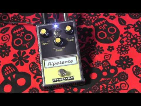 Mendoza Effects RIPETENTE delay guitar effect pedal demo