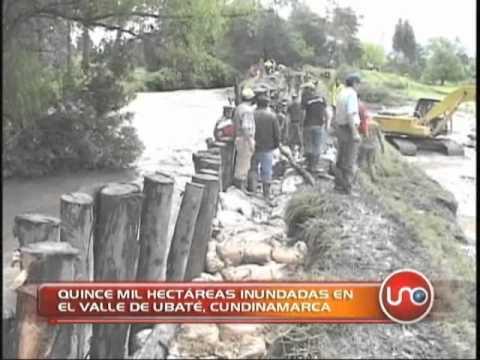 15 mil hectáreas inundadas en el Valle de Ubaté