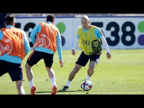 Arjen Robben gaat altijd volle bak