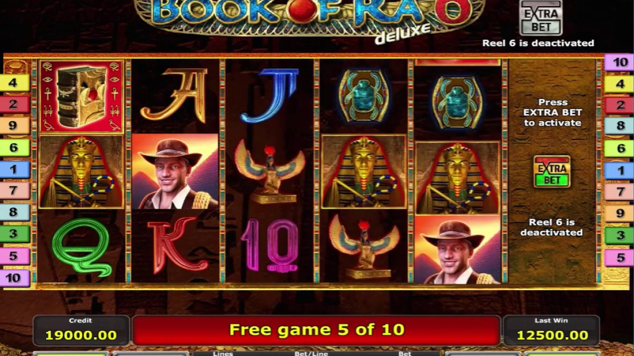 Book Of Ra Slot Machine Free