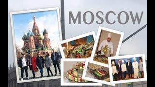 VLOG#1 - Основы Организации Фуршета в другом городе. MOSCOW, RUSSIA, CATERING.