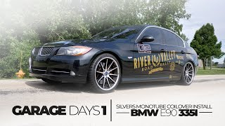 Garage Days | Silver's Coilover Install On a Bmw E90 335i