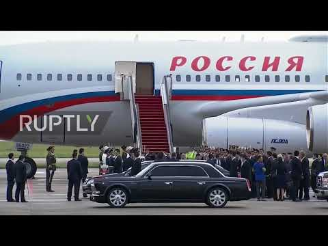 China: Putin touches down in Xiamen for 9th BRICS summit