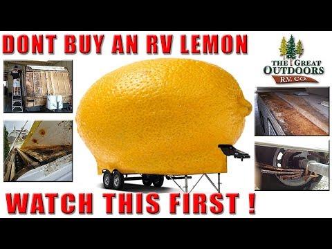 How To Spot A RV Lemon Before You Buy Travel Trailer Pop Up Fifth Wheel Colorado Dealer