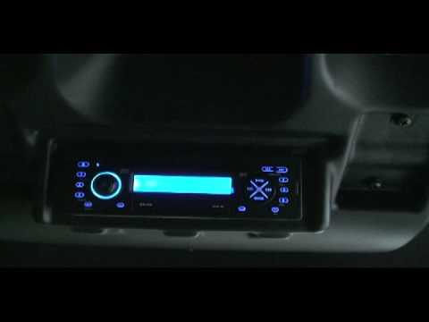 John Deere Gator XUV OPS Overhead Stereo and Interior
