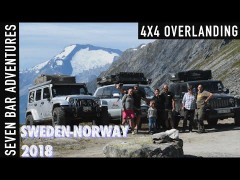 4x4 Expedition Sweden-Norway 2018