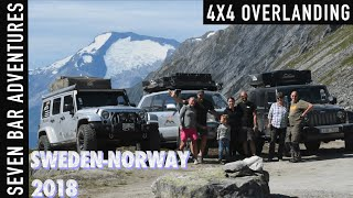 4x4 Expedition Sweden-Norway 2018