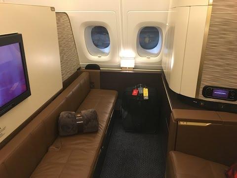 Etihad First Class Apartment | ★★★★★ Etihad First Class Review | ABU DHABI to NEW YORK | Etihad A380