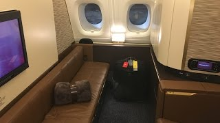 Etihad First Class Apartment | ★★★★★ Etihad First Class Review | ABU DHABI to NEW YORK | Etihad A380