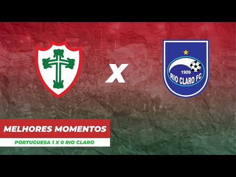 Gol e Melhores Momentos do jogo PORTUGUESA 1 x 0 RIO CLARO - 15/03/2020 || LUSA TV