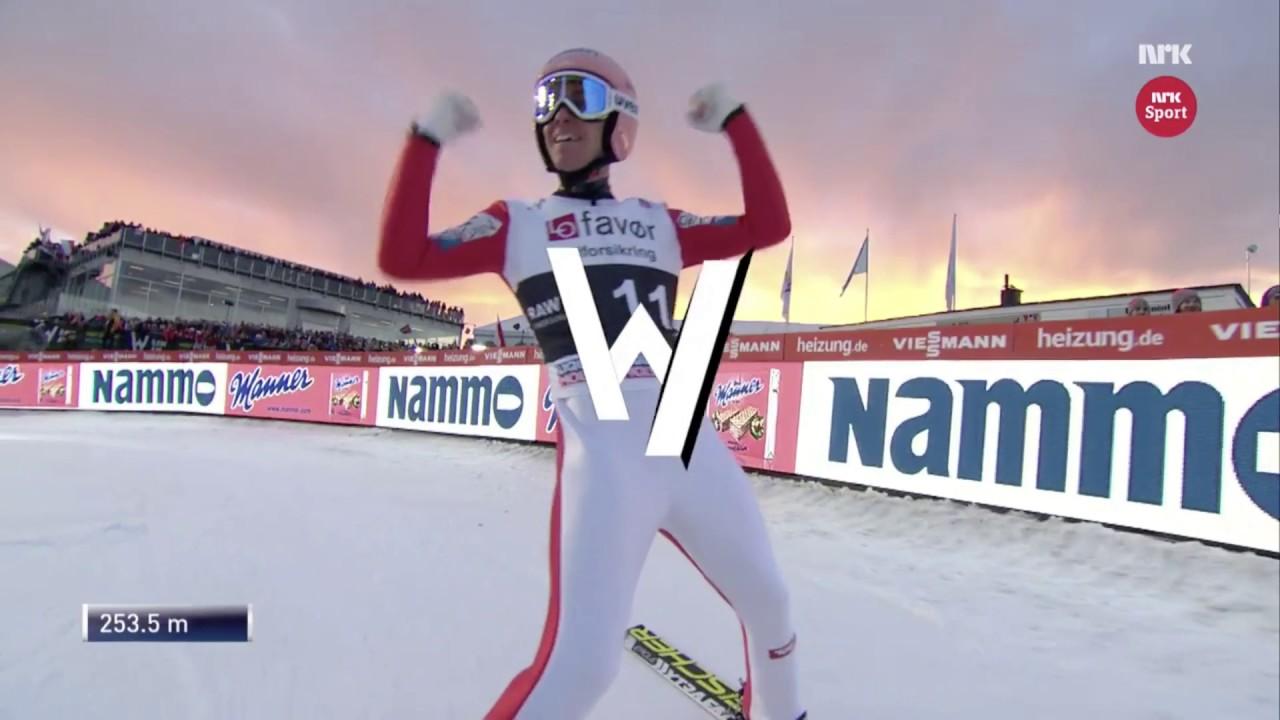 Нов рекорд: Најдолгиот скок со скии