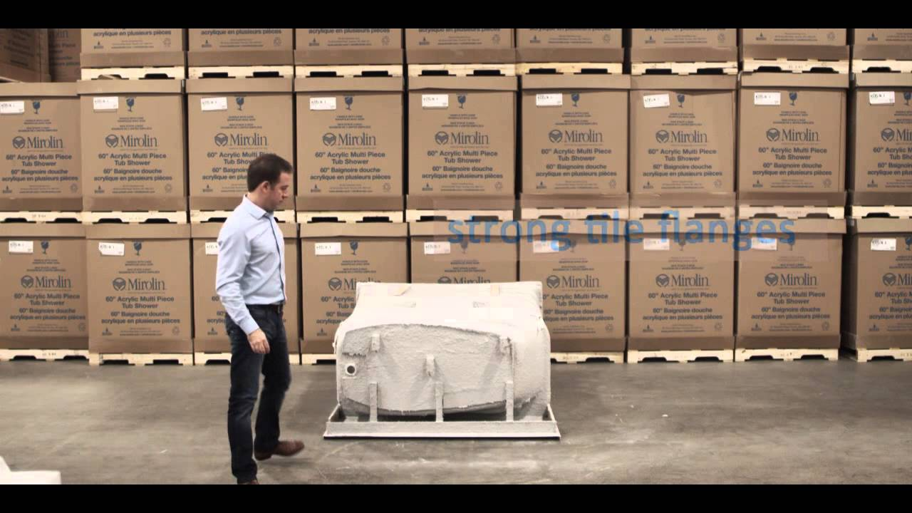 Mirolin Acrylic Bathtub Video - YouTube