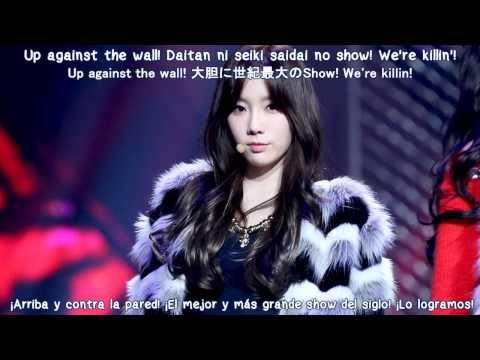Girls' Generation - T.O.P [Sub Español - Kanji - Romanización]