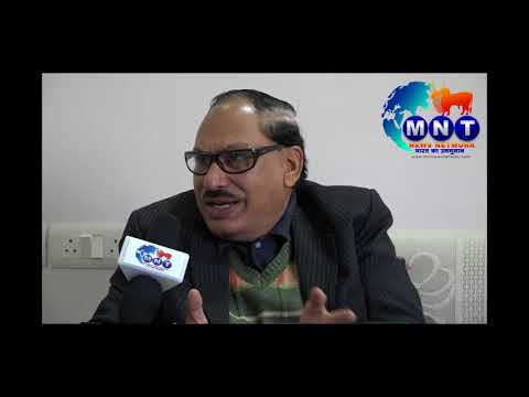 Exclusive Interview of Mn.B.D.Borkar on formation of PEOPLES PARTY OF INDIA