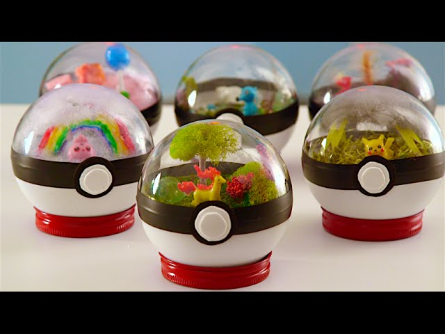 Pokeball Terrariums Are Just As Adorable And Hard To Catch As The