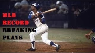 MLB Record Breaking Plays