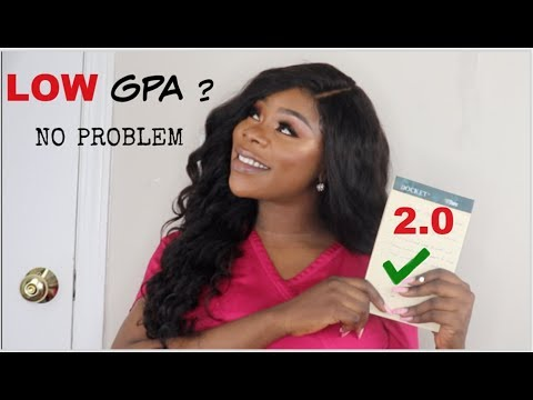 HOW TO GET INTO NURSING SCHOOL WITH A LOW GPA | SIMPLE TRICKS
