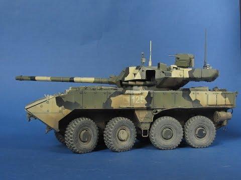 БМП Бумеранг с башней от Т-14 АРМАТА.  Танк на колёсах.