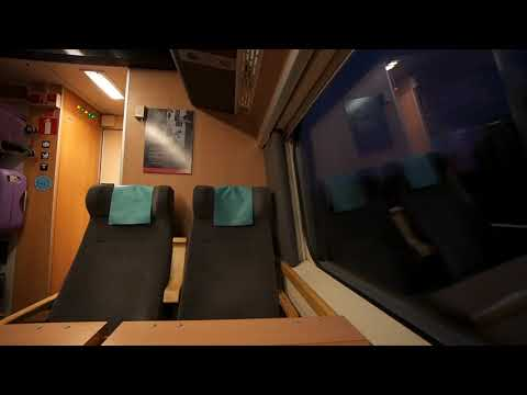 Sweden, train ride from Malmö Central Station to Lund
