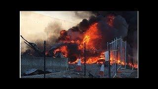 WATCH: Chemical Plant Blaze Sends Hazardous Toxic Smoke into Melbourne Suburbs
