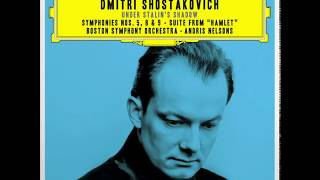 Shostakovich Under Stalin's Shadow : Symphony n.5 / Andris Nelsons, BSO (Studio Masters) 2016