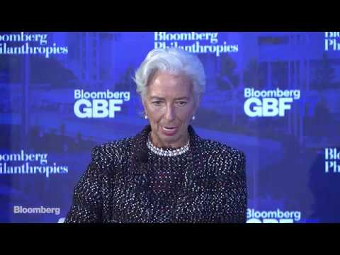 Trudeau, Rutte, Fink and Schwarzman Talk Trade with Christine Lagarde