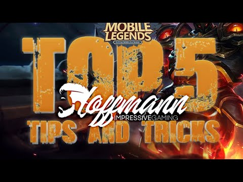 TOP5 Tips to IMPROVE YOUR SKILL in Mobile Legends / Hoffmann IG