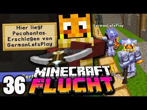 Dafür muss GERMANLETSPLAY ins GEFÄNGNIS! ☆ Minecraft FLUCHT #36