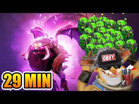 Dark Moon Dota 2 with Techies in 29 Mins Fastest World Record