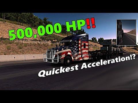 American Truck Simulator: 500,000 HORSEPOWER ENGINE!?