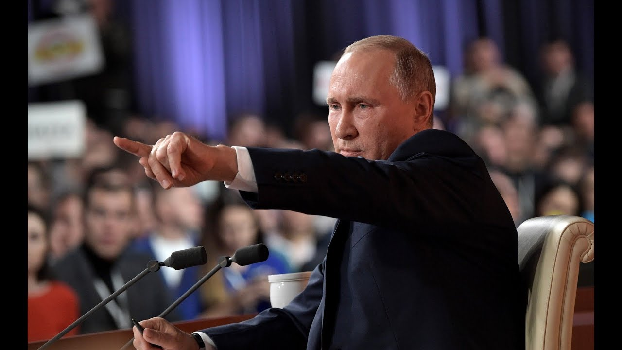 "ONE AND ONLY: ""Undemocratic"" Putin Answers Journo Questions for FOUR hours"