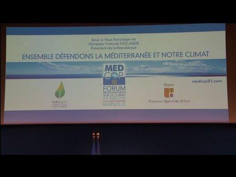 Marseille: Hollande ouvre le forum méditerranéen sur le climat