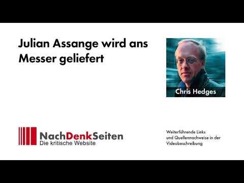 Julian Assange wird ans Messer geliefert   Chris Hedges   NachDenkSeiten-Podcast