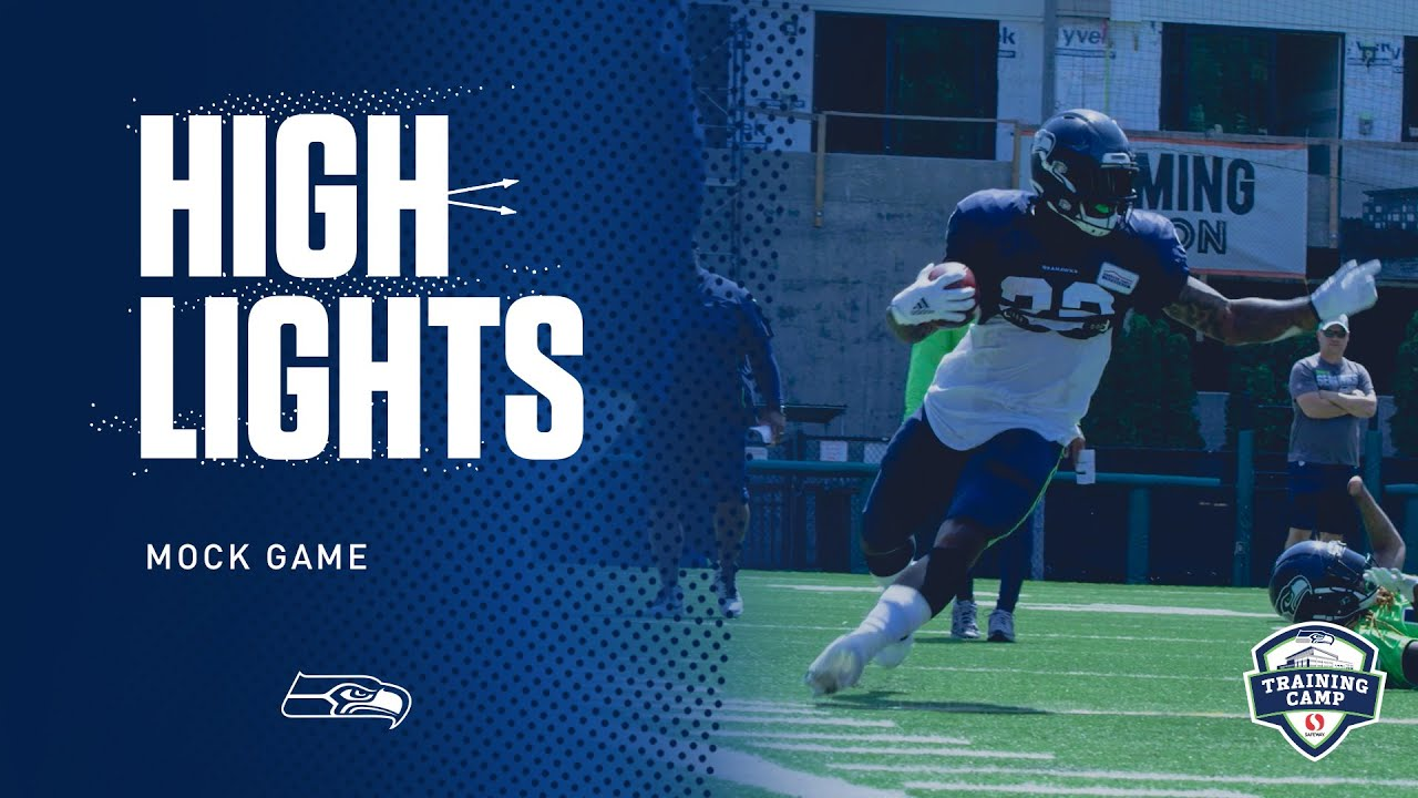 Seahawks 2019 Training Camp Mock Game Highlights