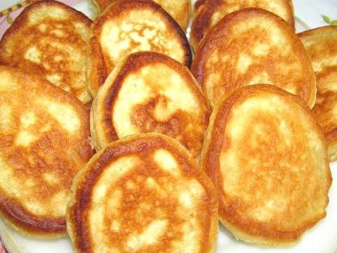 Как приготовить Вкусно -  Пышные ОЛАДУШКИ Как Приготовить Вкусные  ОЛАДЬИ на Кефире