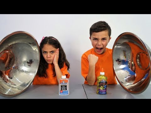 Don't Choose the Wrong Clear Glue Slime Challenge